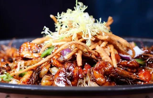 茗虾荟-香辣黑虎虾