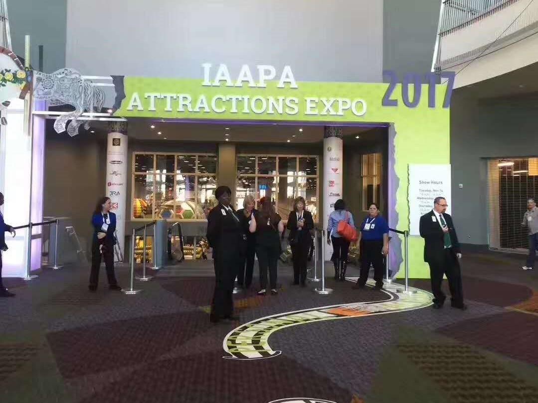 游乐界的新贵 巧可粒亮相2017美国IAAPA展